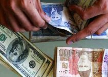 The Pakistani rupee lost more value.
